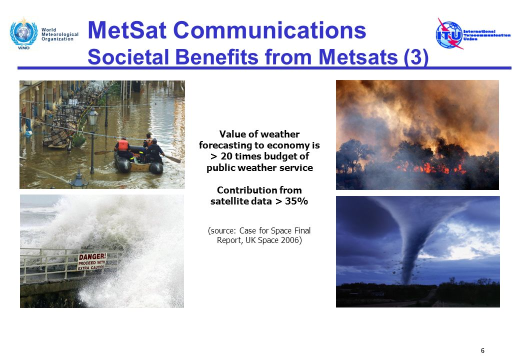 MetSat Communications Societal Benefits from Metsats (3)