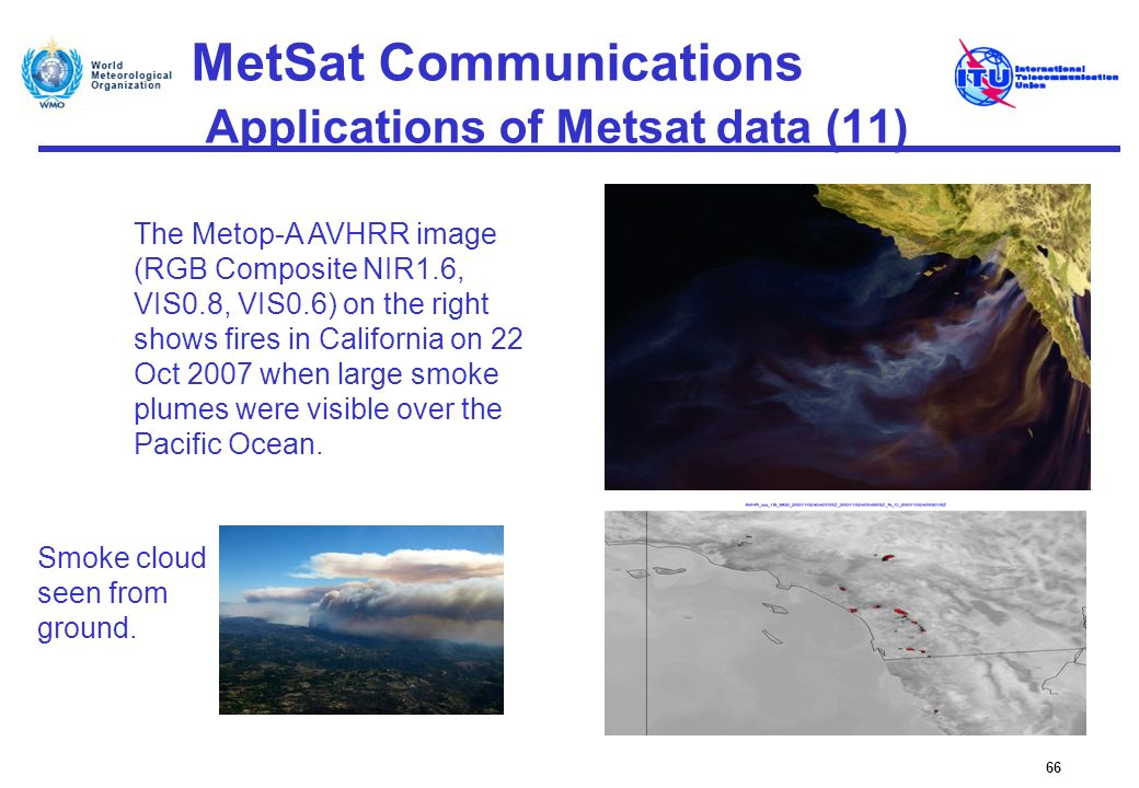 MetSat Communications Applications of Metsat data (11)