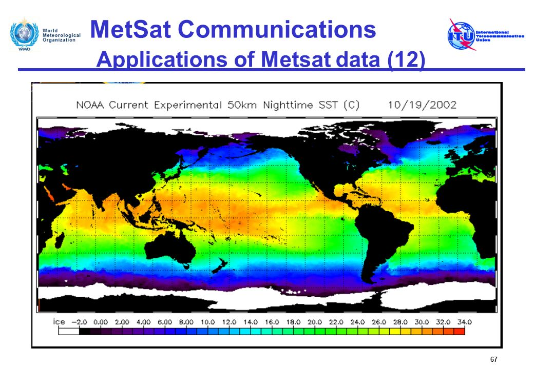 MetSat Communications Applications of Metsat data (12)
