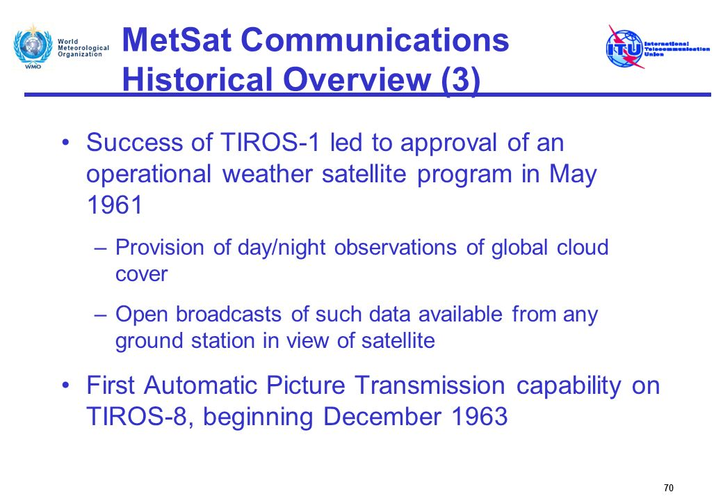 MetSat Communications Historical Overview (3)