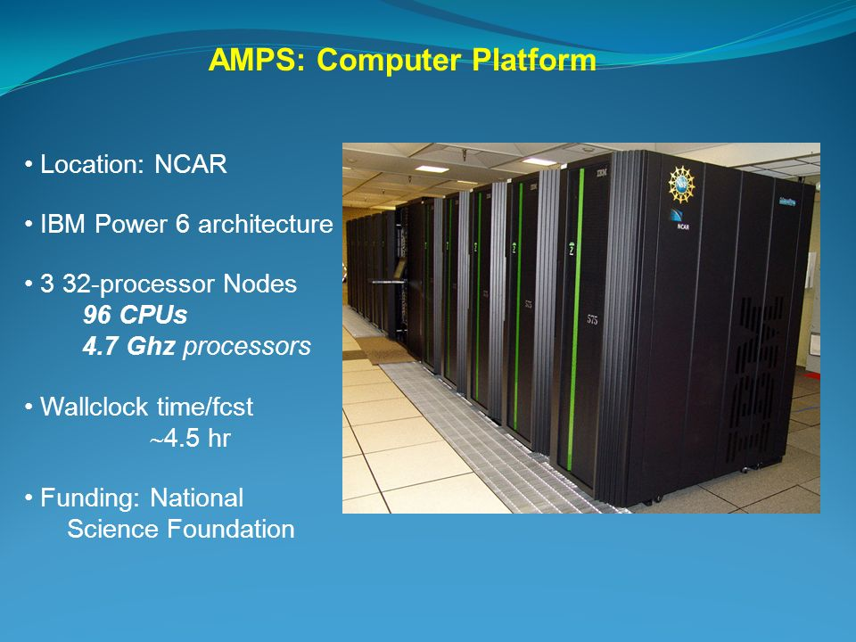 AMPS: Computer Platform