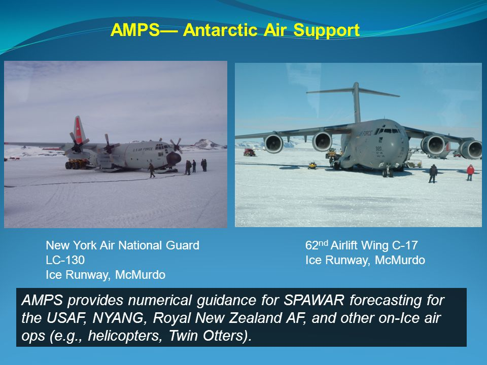 AMPS— Antarctic Air Support