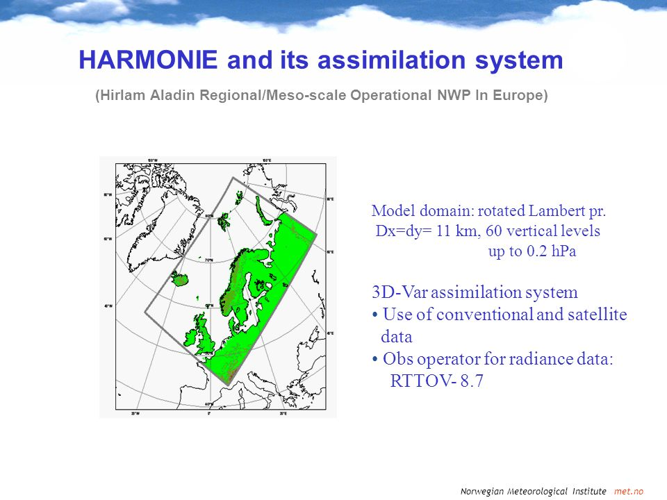 HARMONIE and its assimilation system