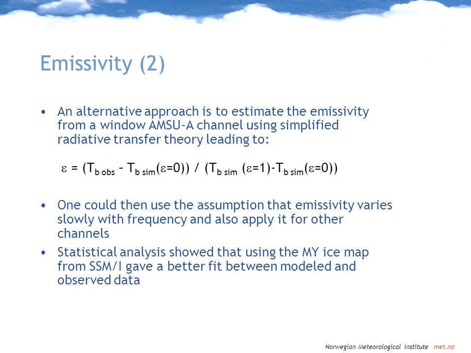 Emissivity (2)
