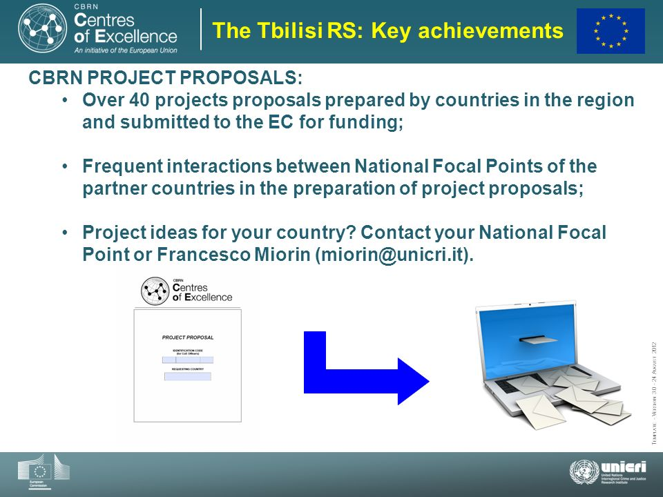 The Tbilisi RS: Key achievements