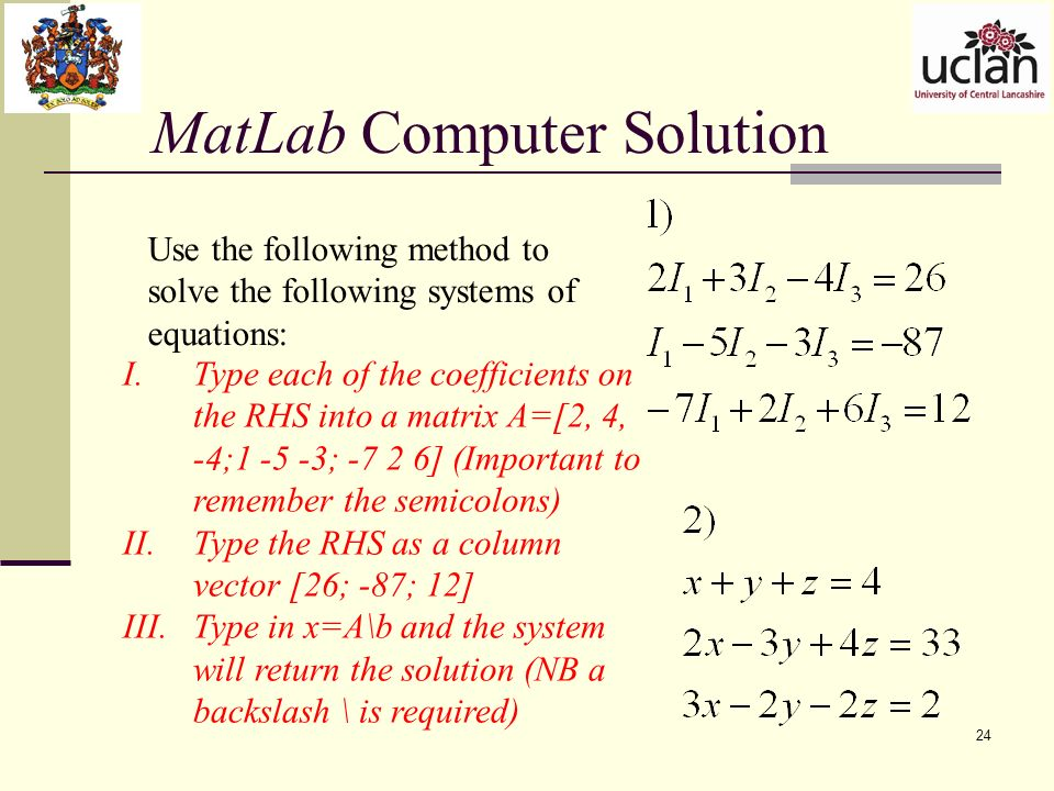 matlab how to find matrix from simo system