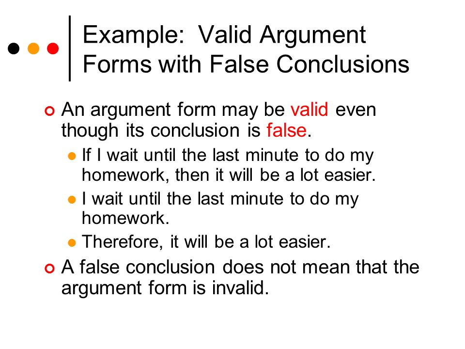 deceptive arguments I briefly consider the strength of the arguments and some possible replies to them   the first deception argument against st is this: (1)if st is true, the father,.