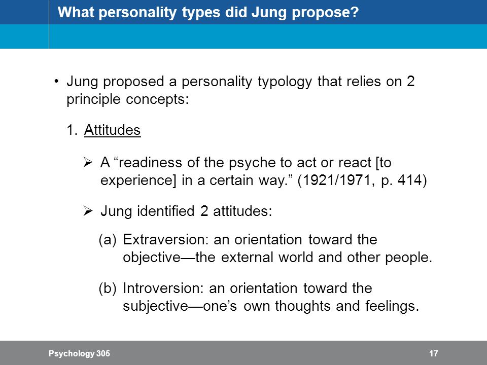 describe and evaluate jungs theory concerning personality types A simple division of preference or personality type is into type a and type b, which is based broadly on anxiety and stress levels   theory types and – about .