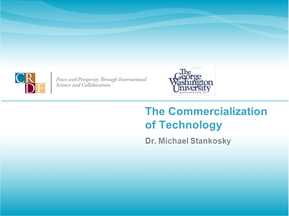 The Commercialization of Technology