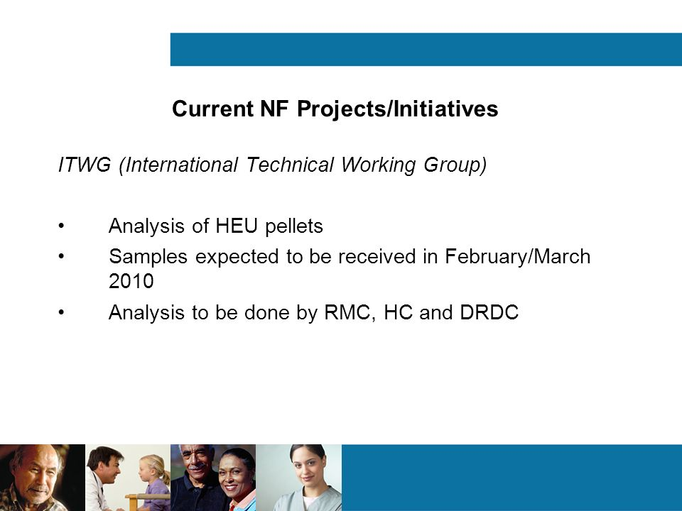 Current NF Projects/Initiatives