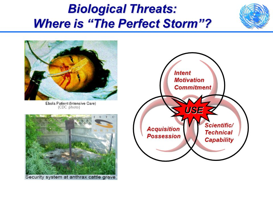 Biological Threats: Where is The Perfect Storm