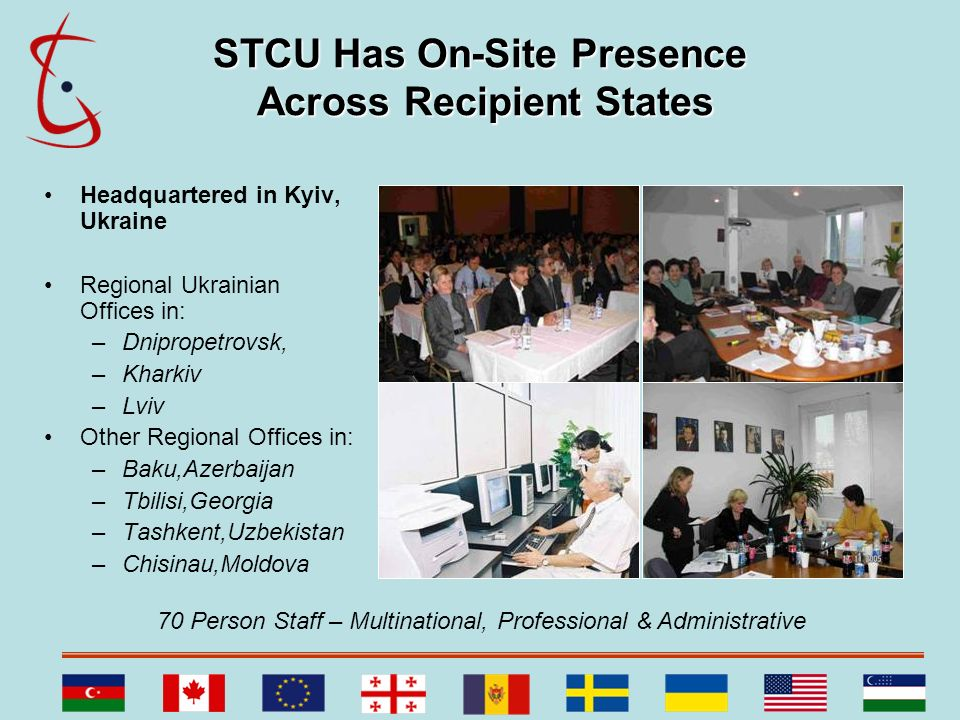 STCU Has On-Site Presence Across Recipient States