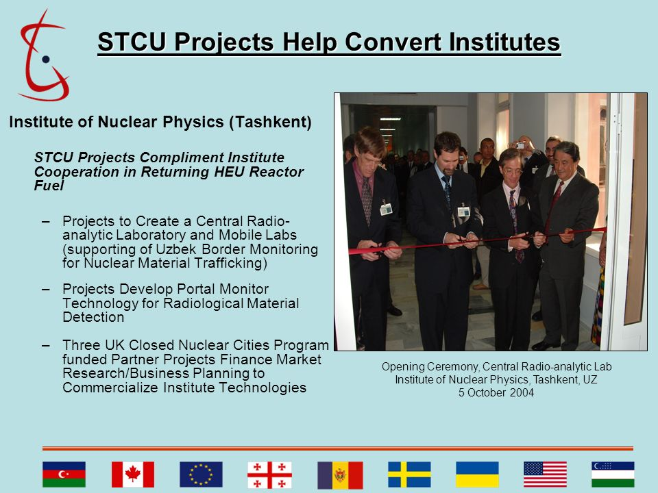 STCU Projects Help Convert Institutes