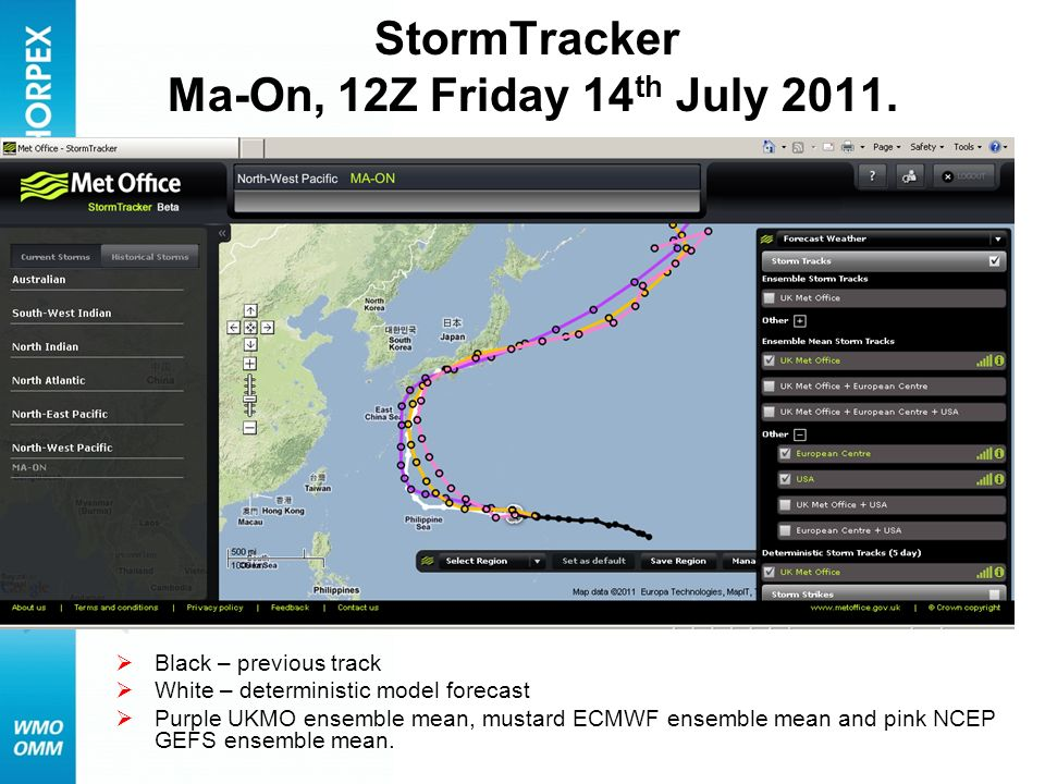 StormTracker Ma-On, 12Z Friday 14th July 2011.