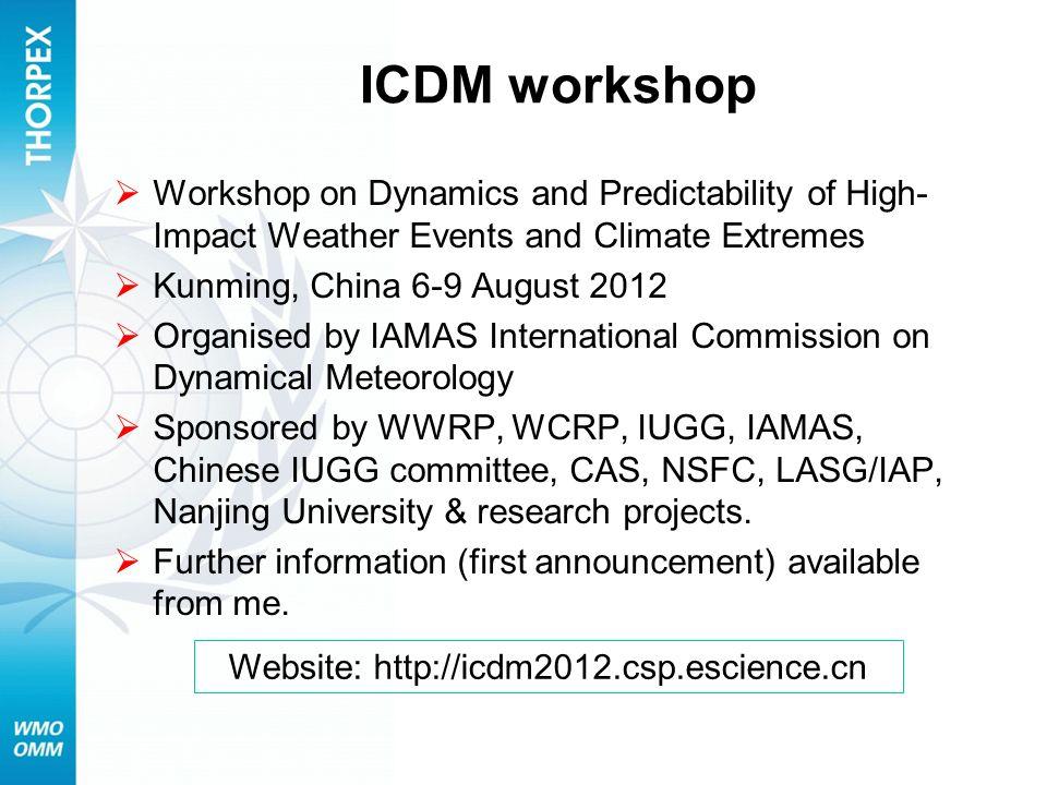 Website: http://icdm2012.csp.escience.cn