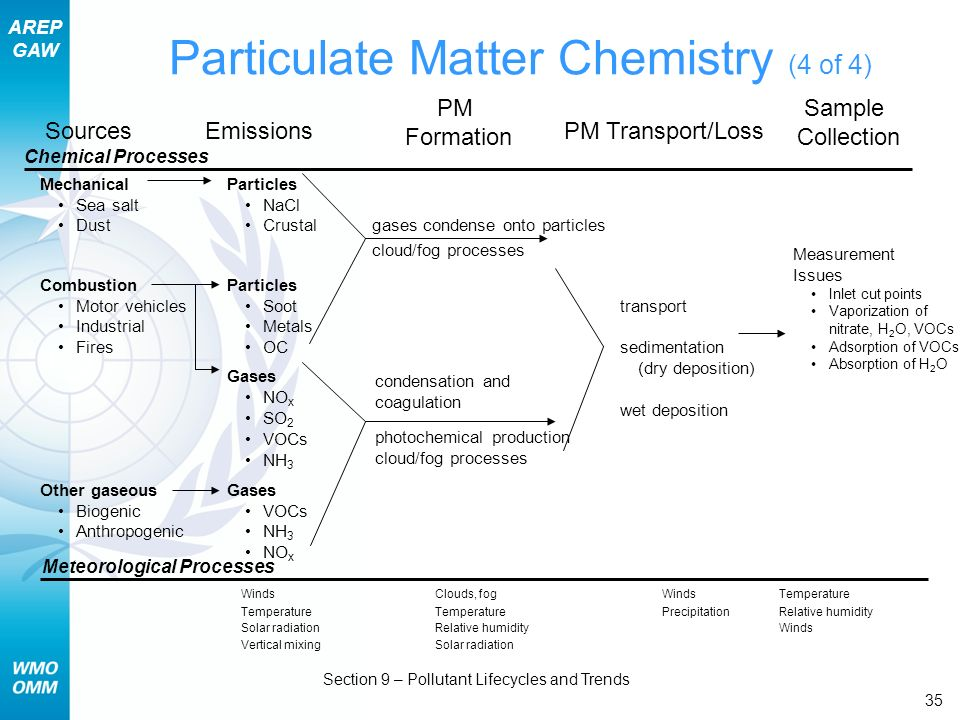 Particulate Matter Chemistry (4 of 4)