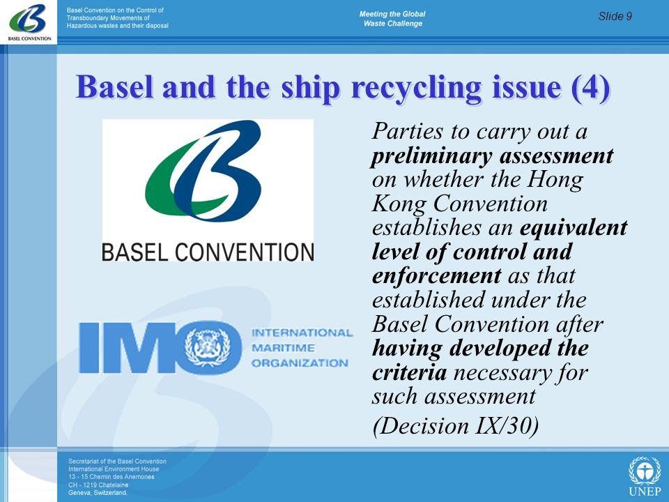 Basel and the ship recycling issue (4)