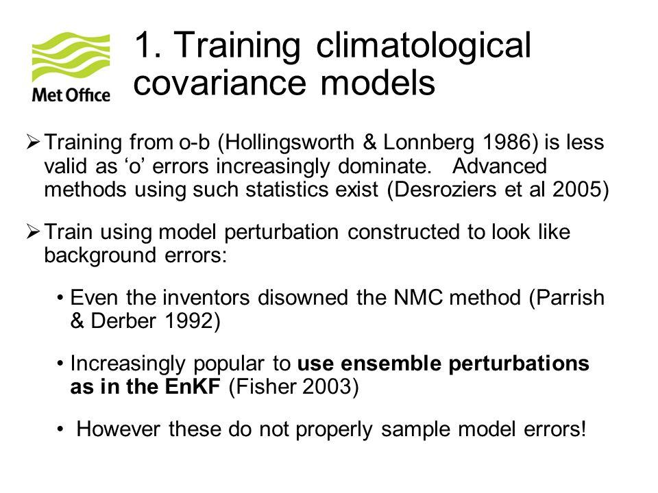 1. Training climatological covariance models