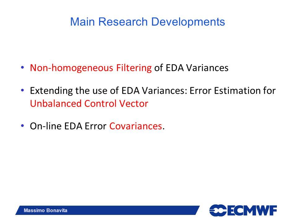 Main Research Developments