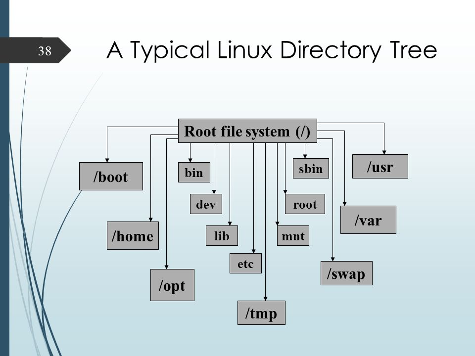 linux file system types