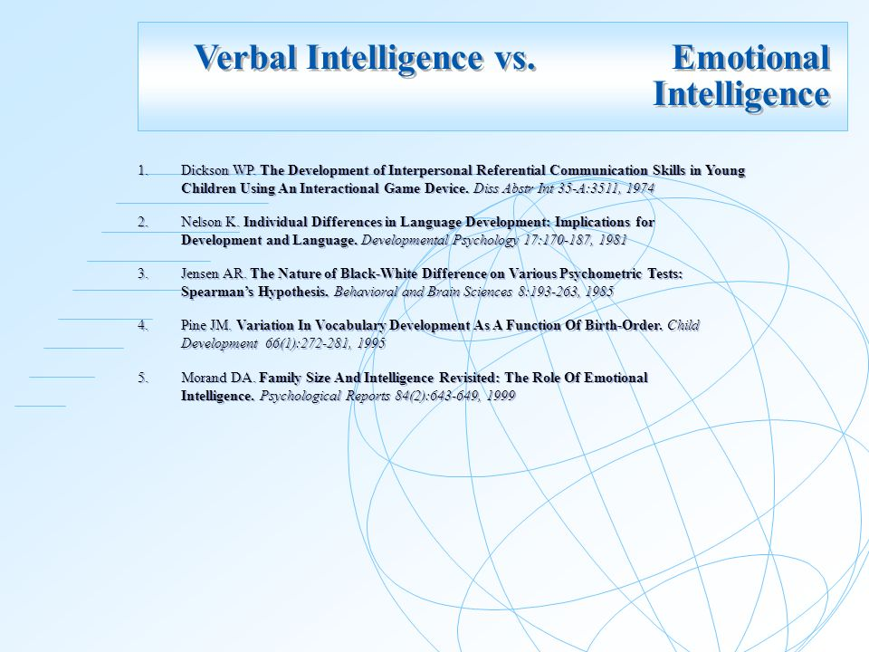 implication of emotional intelligence to students Abstract: the present paper is an attempt to examine relationship between  emotional intelligence and academic achievement of expatriate students  students in.