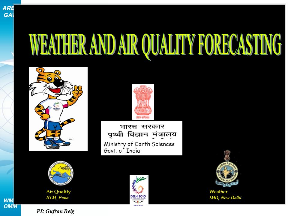 WEATHER AND AIR QUALITY FORECASTING