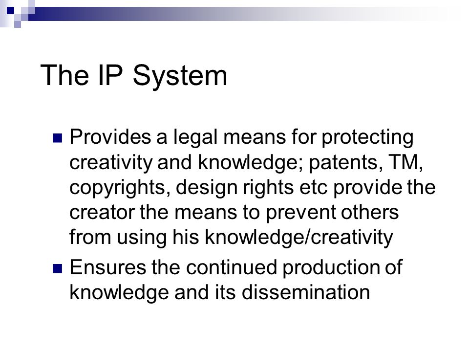 The IP System