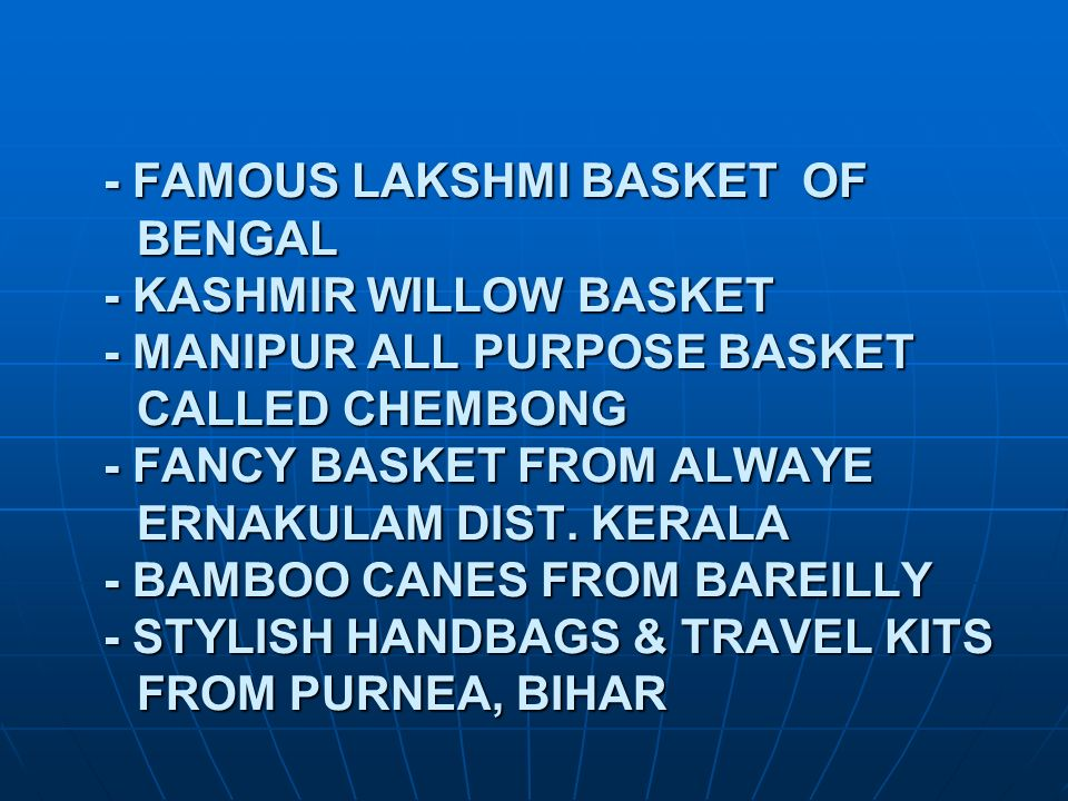 - FAMOUS LAKSHMI BASKET OF