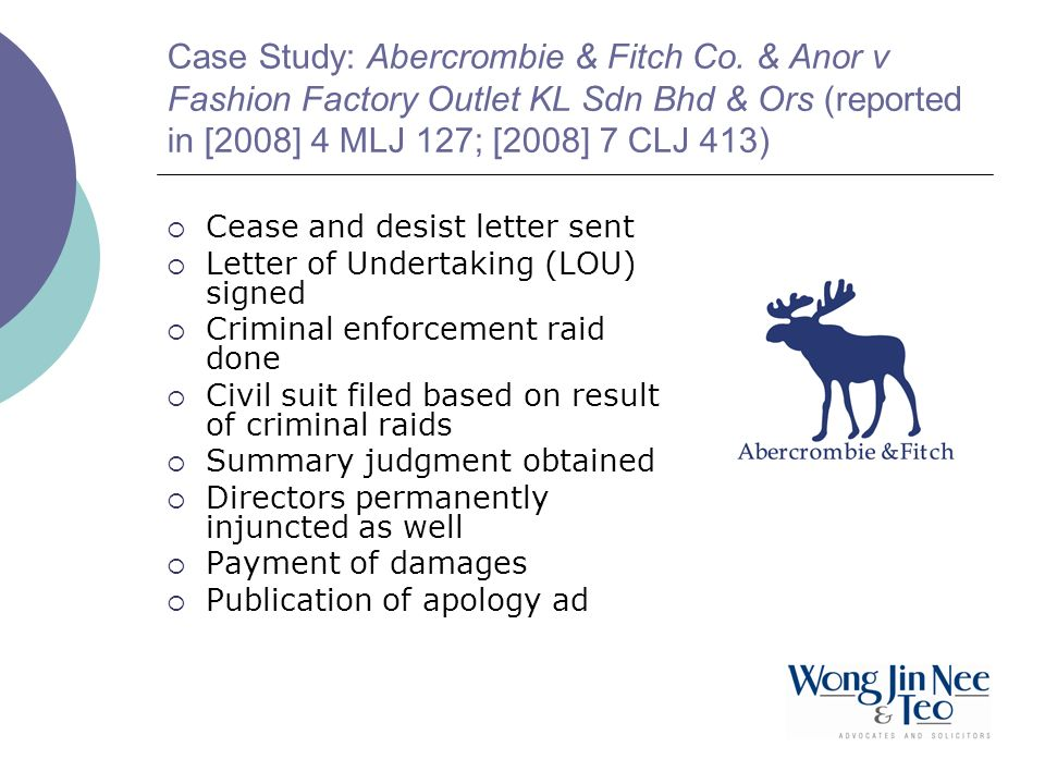 Case Study: Abercrombie & Fitch Co