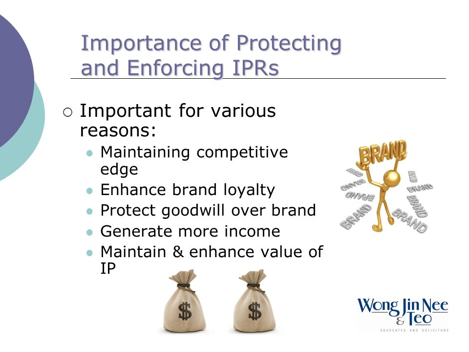 Importance of Protecting and Enforcing IPRs