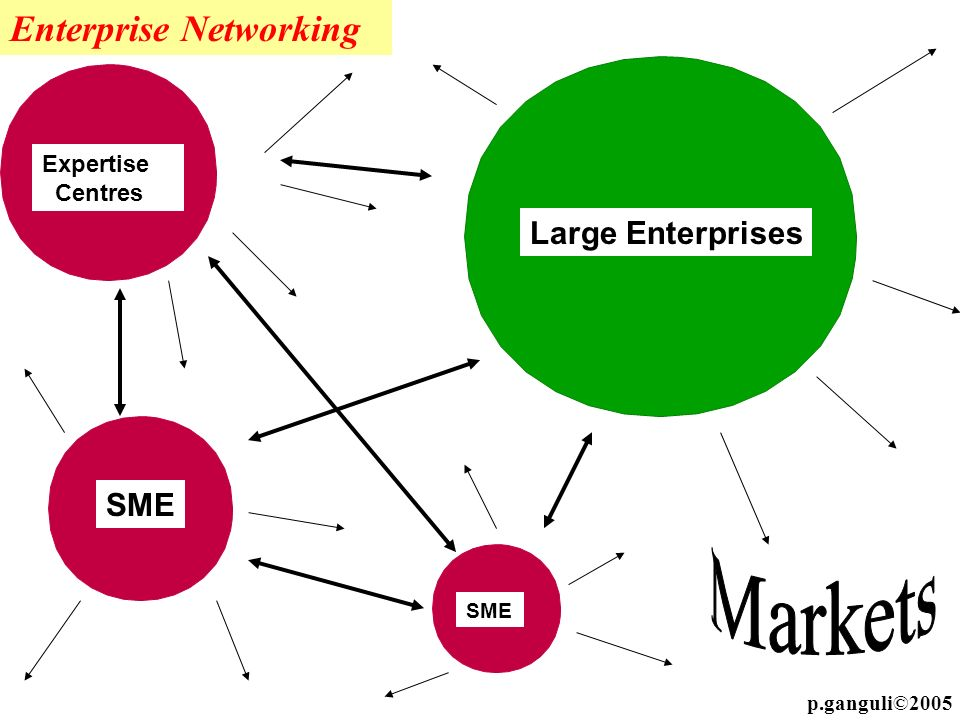 Markets Enterprise Networking Large Enterprises SME Expertise Centres