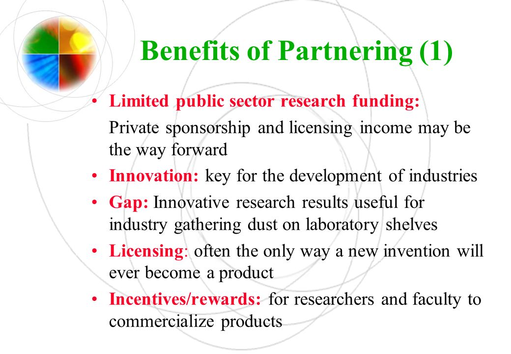 Benefits of Partnering (1)