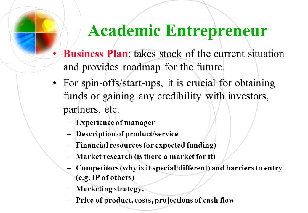 Academic Entrepreneur