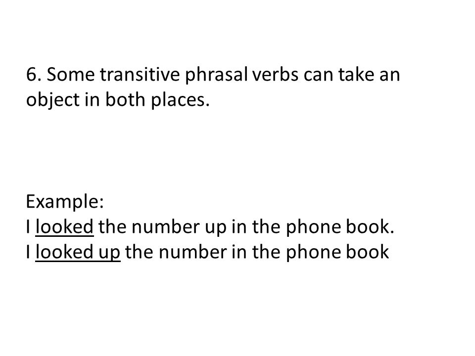 Phrasal Verbs. - Ppt Download
