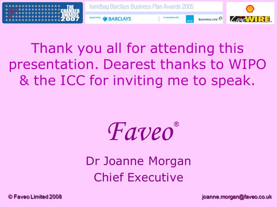 Dr Joanne Morgan Chief Executive