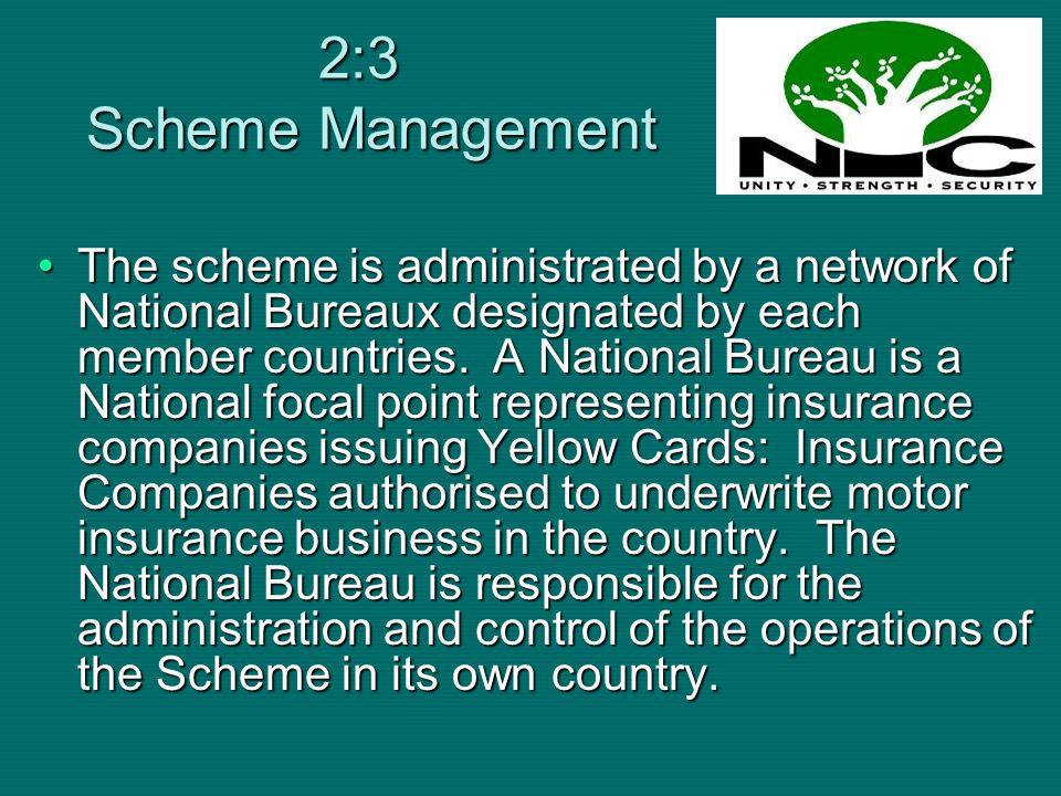 2:3 Scheme Management