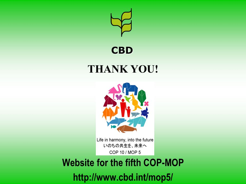 Website for the fifth COP-MOP
