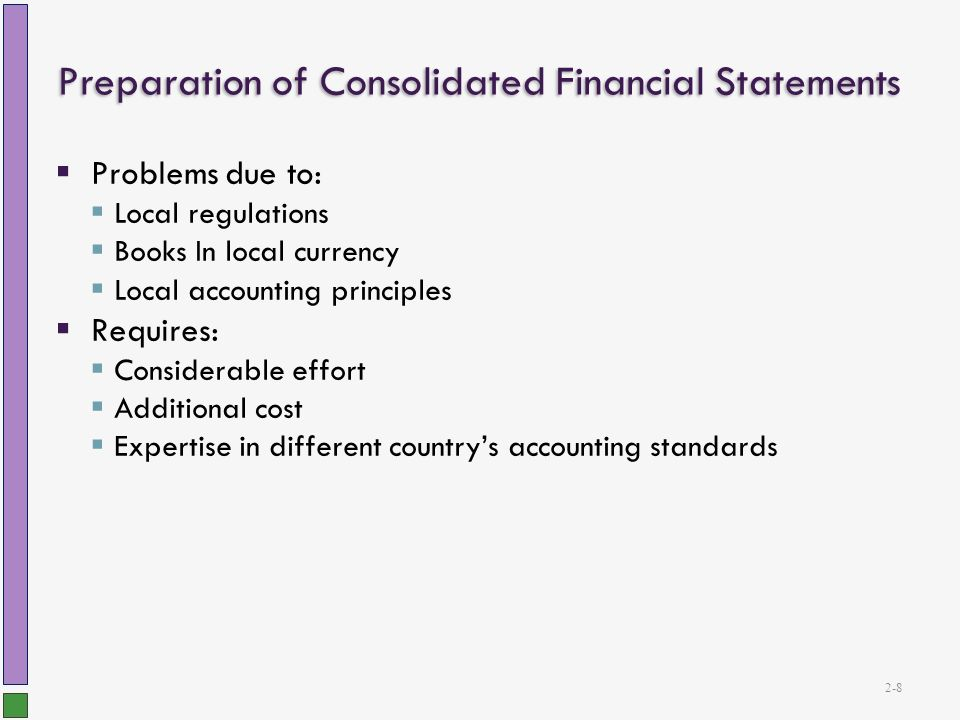 preparation of consolidated statement of financial Consolidation preparing and understanding consolidated financial statements under ifrs [carlo maria gallimberti, antonio marra, annalisa prencipe] on amazoncom free shipping on qualifying offers.