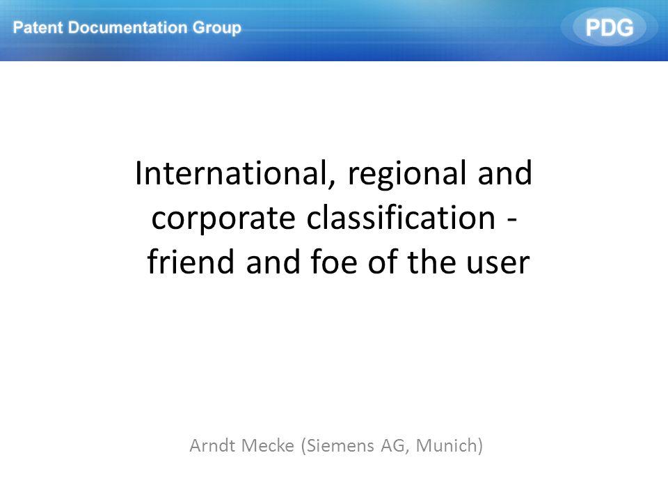 Arndt Mecke (Siemens AG, Munich)