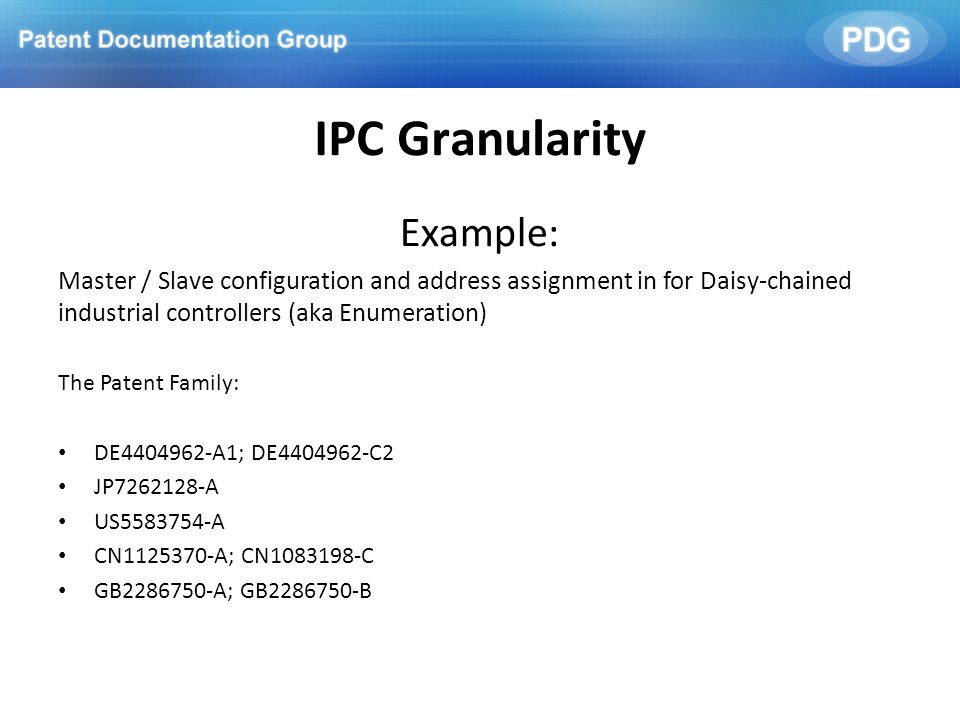 IPC Granularity Example: