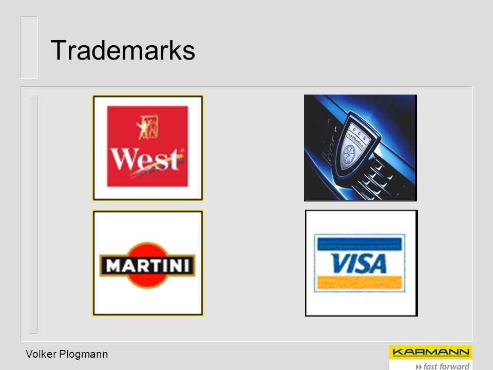 Trademarks Volker Plogmann Registered Marks