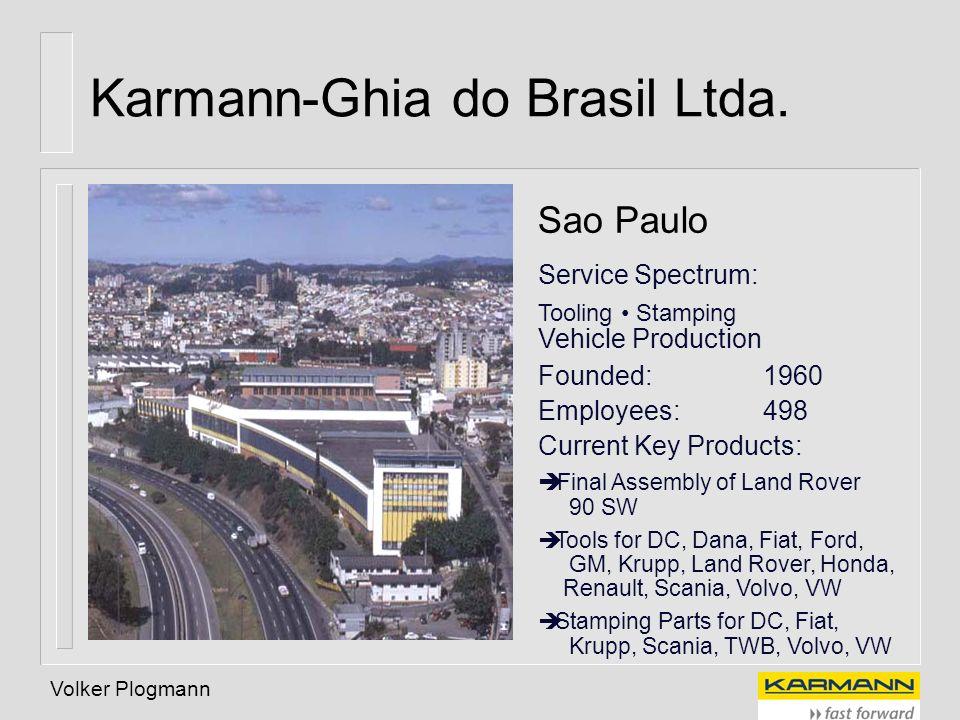 Karmann-Ghia do Brasil Ltda.