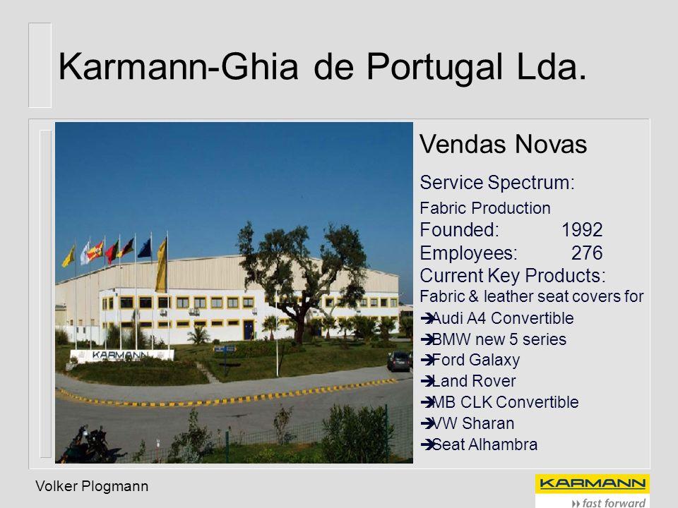Karmann-Ghia de Portugal Lda.