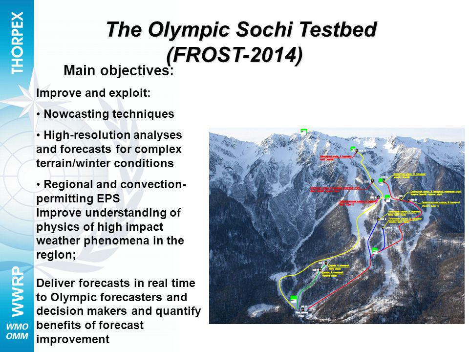 The Olympic Sochi Testbed