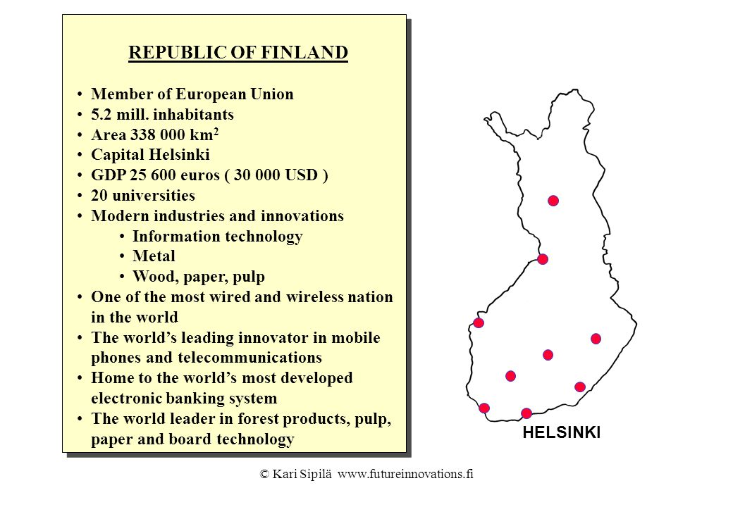© Kari Sipilä www.futureinnovations.fi