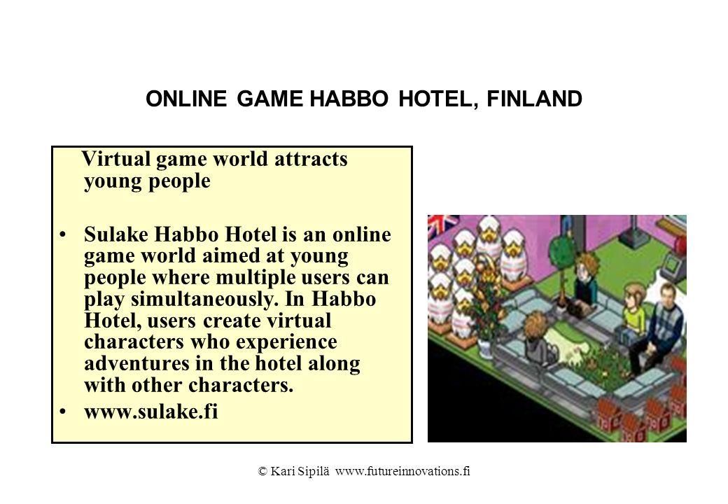 ONLINE GAME HABBO HOTEL, FINLAND