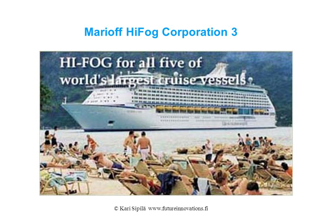 Marioff HiFog Corporation 3