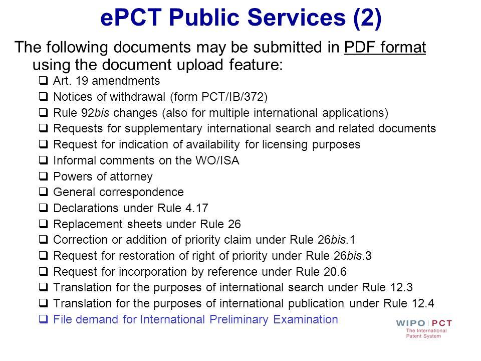 ePCT Public Services (2)