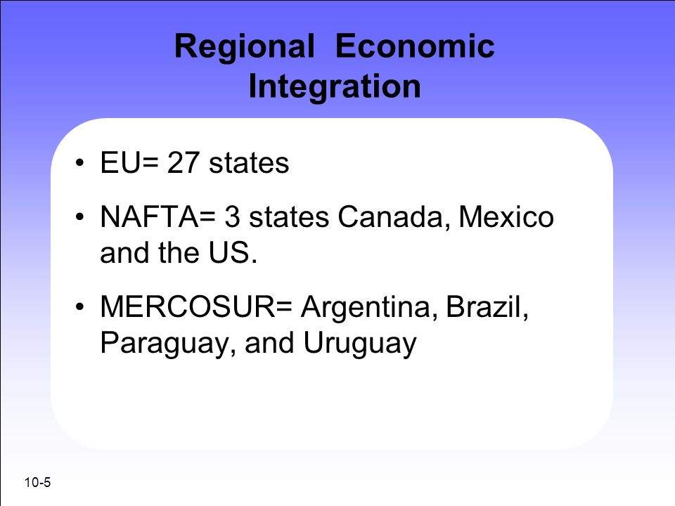 regional economic integration and nafta essay This research paper the role of regional integration and other 64,000+ term papers, college essay examples and  or other economic change, nafta affected some.