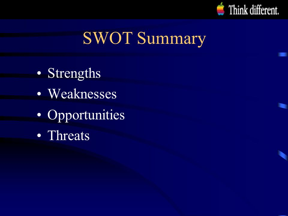 "ibm strengths weaknesses opportunities threats Swot analysis international business machines corporation (ibm or ""the company"") is an integrated solutions provider that leverages information technology and business processes the company enjoys a strong market position and is further poised to defend the market position."